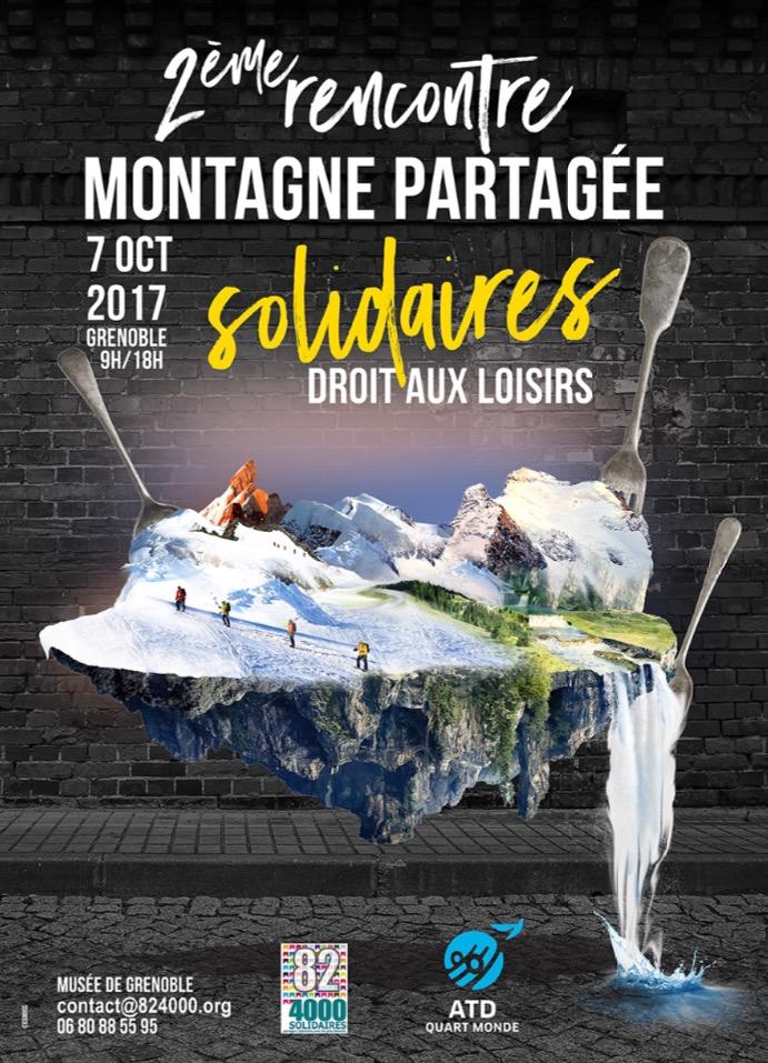 2e rencontre montagne partagée à Grenoble