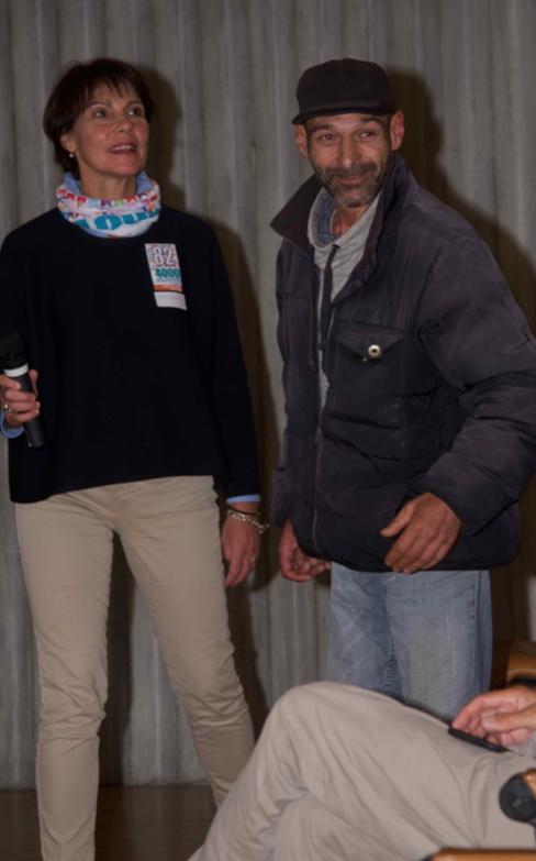Marianne et Djahid, stagiaire 82-4000